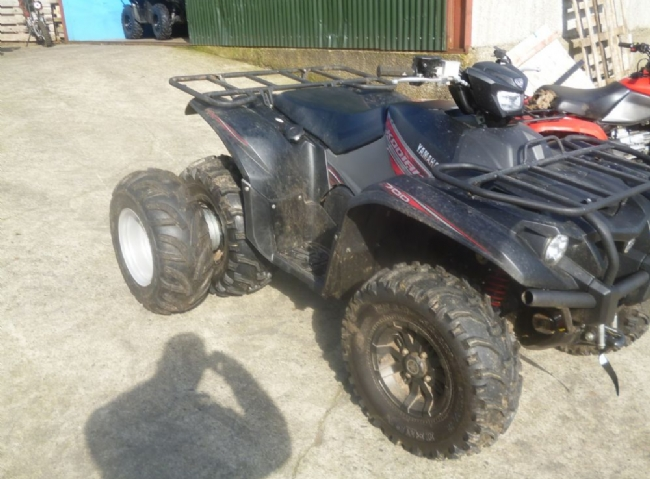 Clic ATV Dual wheels