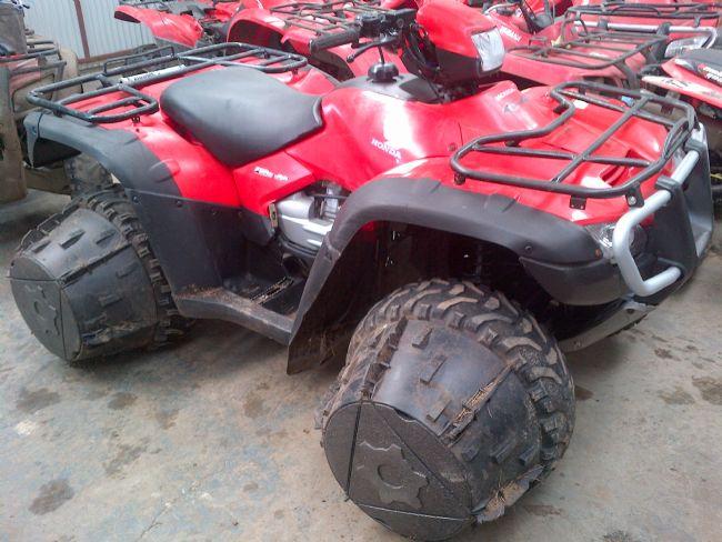 Honda Foreman TRX 500 FA + J-WHEELZ - Quads | McKay Brothers